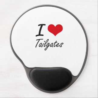 I love Tailgates Gel Mouse Pad