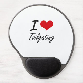 I Love Tailgating Gel Mouse Pad