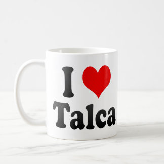 I Love Talca, Chile Coffee Mug
