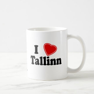 I Love Tallinn Coffee Mug