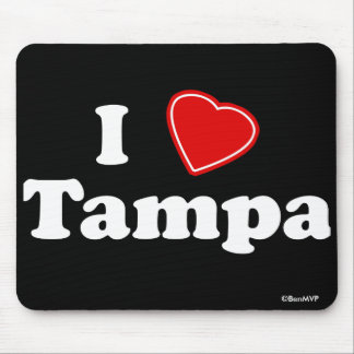 I Love Tampa Mouse Pad