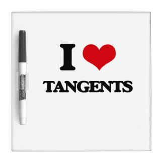 I love Tangents Dry-Erase Board