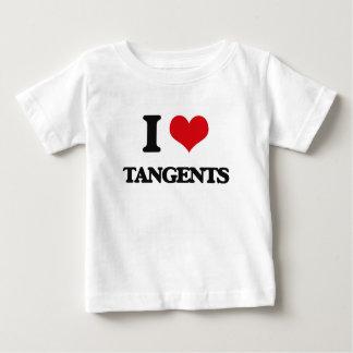 I love Tangents Shirt