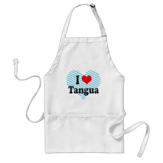 I Love Tangua, Brazil. Eu Amo O Tangua, Brazil Standard Apron