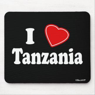 I Love Tanzania Mousepads