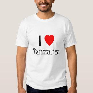 I love Tanzania shirt