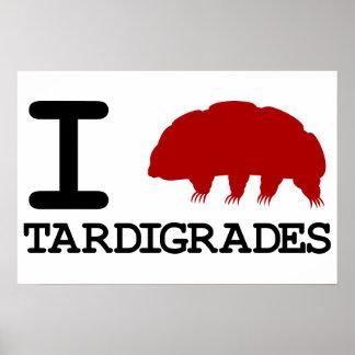 I Love Tardigrades Poster