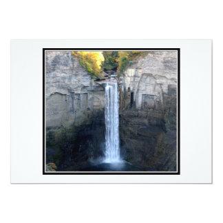 "I love Taughannock Falls 5"" X 7"" Invitation Card"