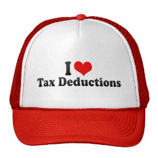 I Love Tax Deductions Trucker Hat