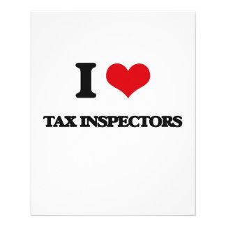 I love Tax Inspectors Full Color Flyer