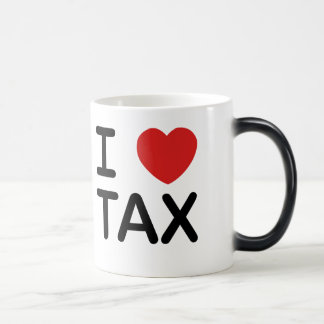 I Love Tax Magic Mug