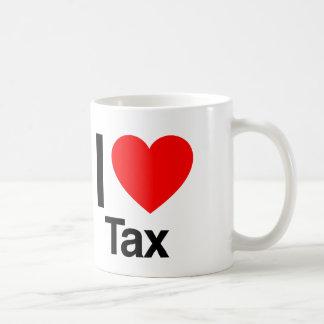 i love tax mugs
