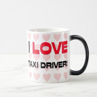 I LOVE TAXI DRIVERS MUGS
