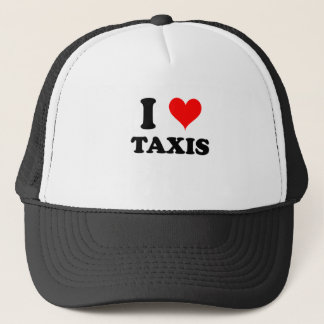 I Love Taxis Trucker Hat