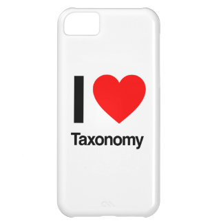 i love taxonomy iPhone 5C case