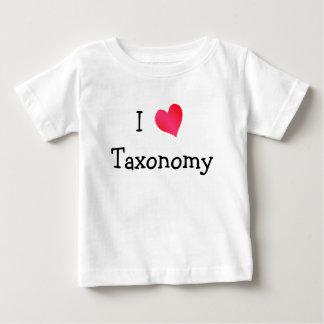 I Love Taxonomy T-shirt
