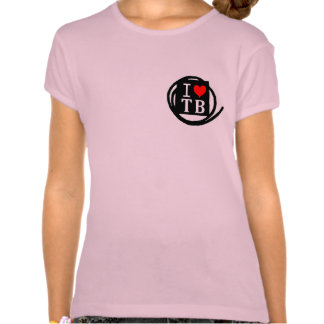 I LOVE TB Girls Baby Doll (Fitted) (3 Color) T Shirt