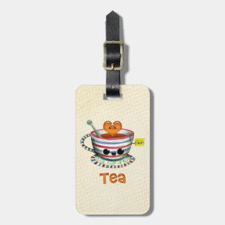 I love Tea Luggage Tag