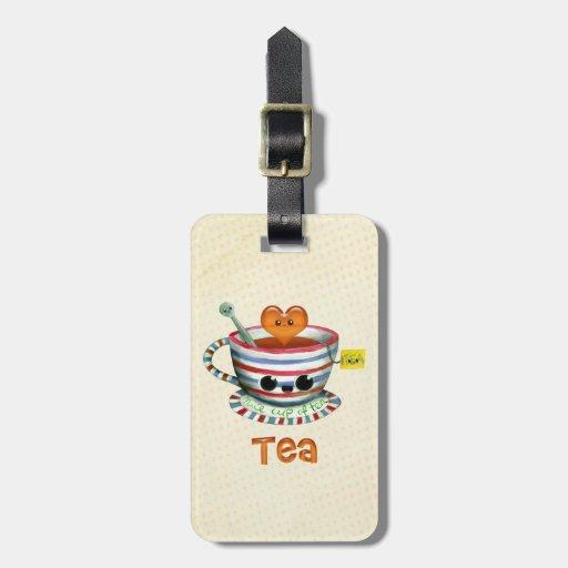 I love Tea Luggage Tags