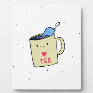 """""""I love Tea"""" Shirt and Apparel Plaque"""