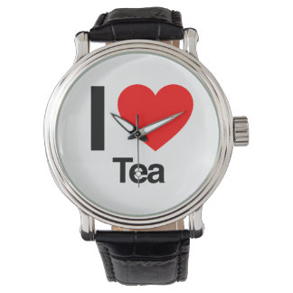 I Love Tea Watch