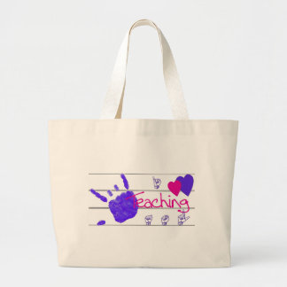 i love teaching asl - tote