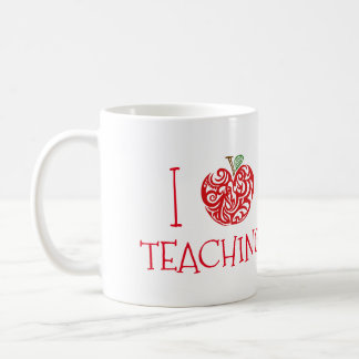 I Love Teaching Coffee Mug