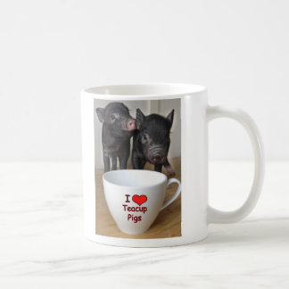 I Love Teacup Pigs Mug