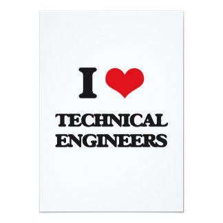 I love Technical Engineers Announcement