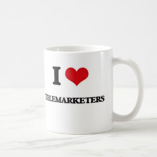 I Love Telemarketers Coffee Mug