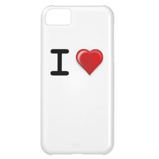 I LOVE Template iPhone 5C Case