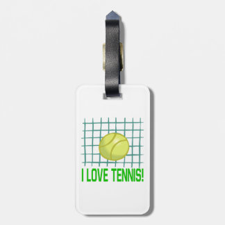 I Love Tennis 2.png Luggage Tag