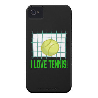 I Love Tennis Case-Mate iPhone 4 Cases