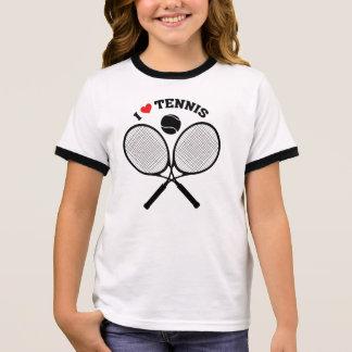 I Love Tennis Crossed Rackets Tennis t-shirt