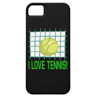 I Love Tennis iPhone 5 Covers