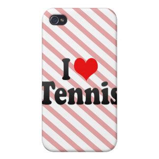 I love Tennis iPhone 4 Case