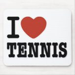 I LOVE TENNIS MOUSE PADS