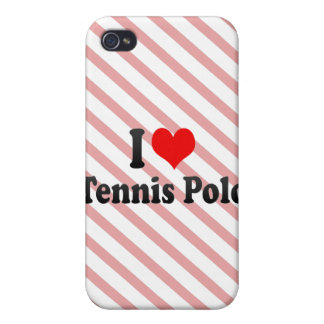 I love Tennis Polo iPhone 4 Cover
