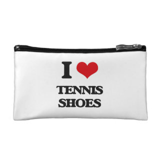 I love Tennis Shoes Cosmetic Bag