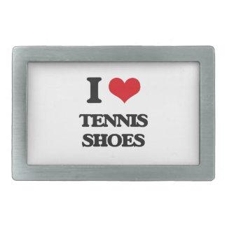 I love Tennis Shoes Belt Buckles
