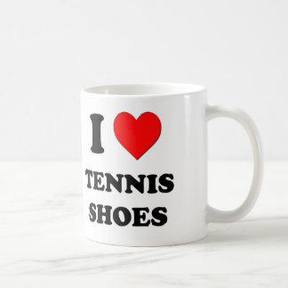 I love Tennis Shoes Classic White Coffee Mug