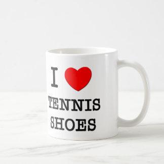 I Love Tennis Shoes Coffee Mugs