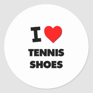 I love Tennis Shoes Stickers