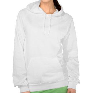 I love Tennis Shoes Hooded Sweatshirts