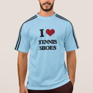 I love Tennis Shoes Tee Shirts