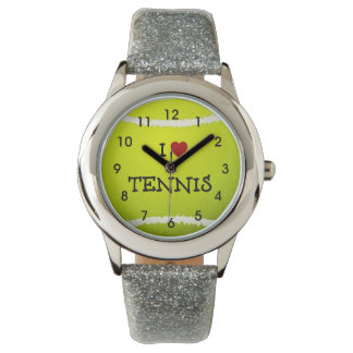 I Love Tennis - Tennis Ball Wristwatch
