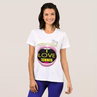 I love Tennis Women's Competitor T-Shirt
