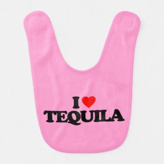 I LOVE TEQUILA BABY BIB