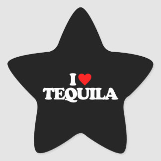 I LOVE TEQUILA STICKERS