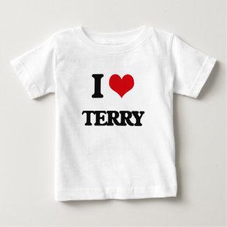 I Love Terry Tshirts